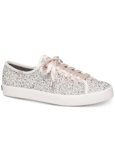 Keds Women's Kickstart Boucle Lace-Up Fashion Sneakers Women's Shoes