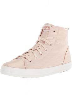 Keds Women's Kickstart HI Metallic Linen Sneaker   M US