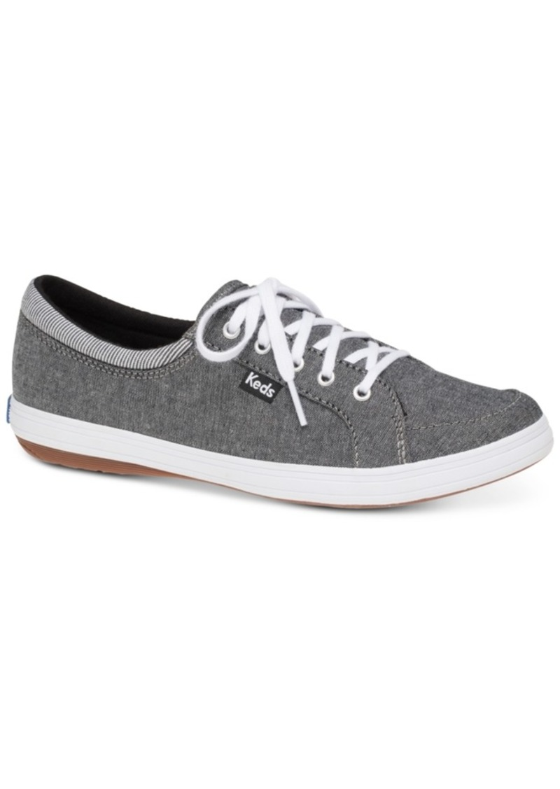 8d88a2b91df60 Women's Tour Chambray Lace-Up Fashion Sneakers Women's Shoes