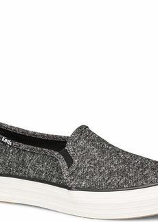 Keds Women's Triple Decker Sparkle Jersey Shoe   M US