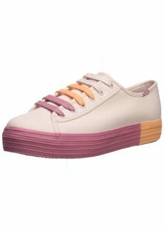 Keds Women's Triple Kick Colorblock Foxing Sneaker   M US