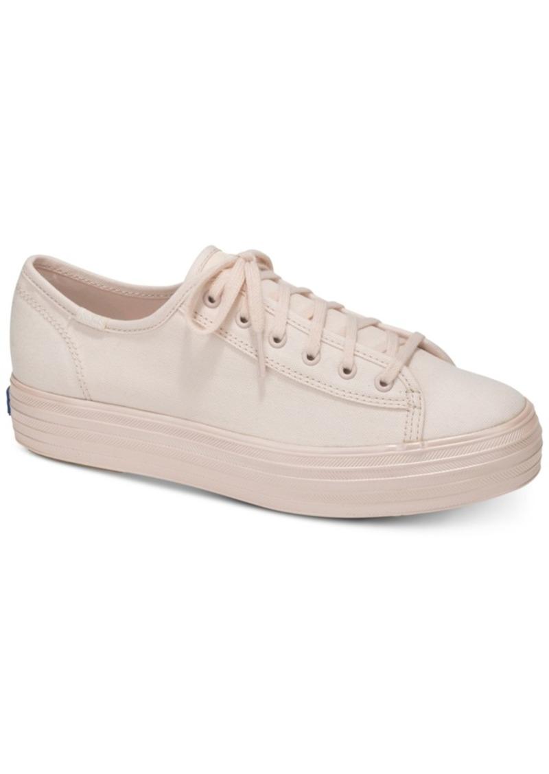 f1dd0c8f29b Keds Keds Women s Triplekick Lace-Up Fashion Sneakers Women s Shoes ...