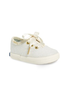 Keds® x kate spade new york Champion Glitter Crib Shoe (Baby)