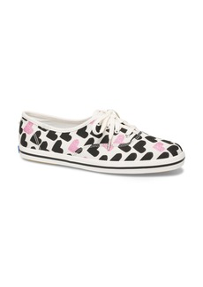 Keds® x kate spade new york Champion Hearts Sneaker (Women)