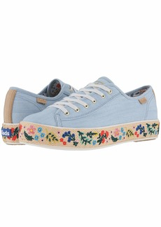 Keds Triple Kick Embroidered Jute