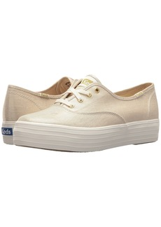 Keds Triple Metallic Linen