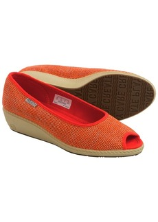 Keen Cortona Wedge Shoes - Jute, Peep Toe (For Women)