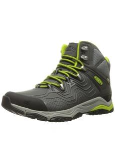 KEEN Men's Aphlex Mid Waterproof Shoe Black/Gargoyle