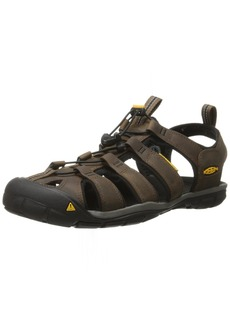 3fdab7e4312f KEEN Men s Clearwater Cnx Leather Water Sandal