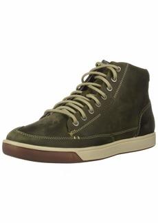 Keen Men's Glenhaven Sneaker MID Dark Black Olive  M US