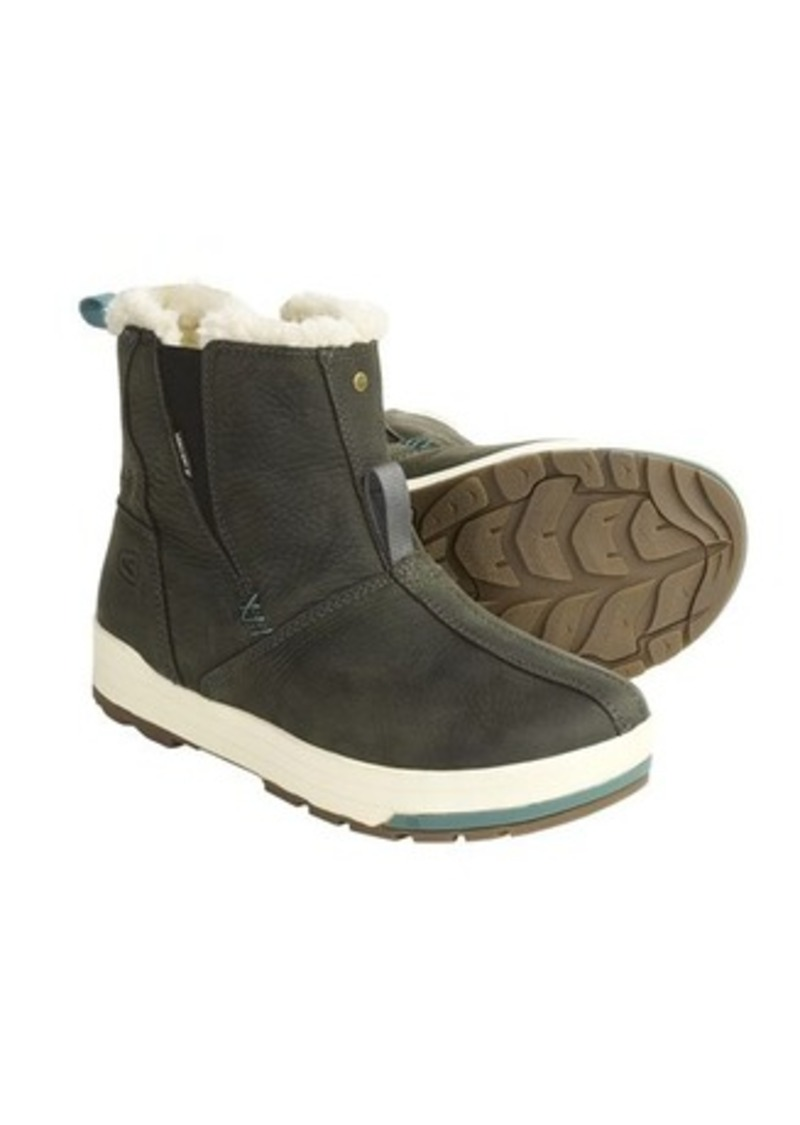 Keen snowmass mid snow boots waterproof faux