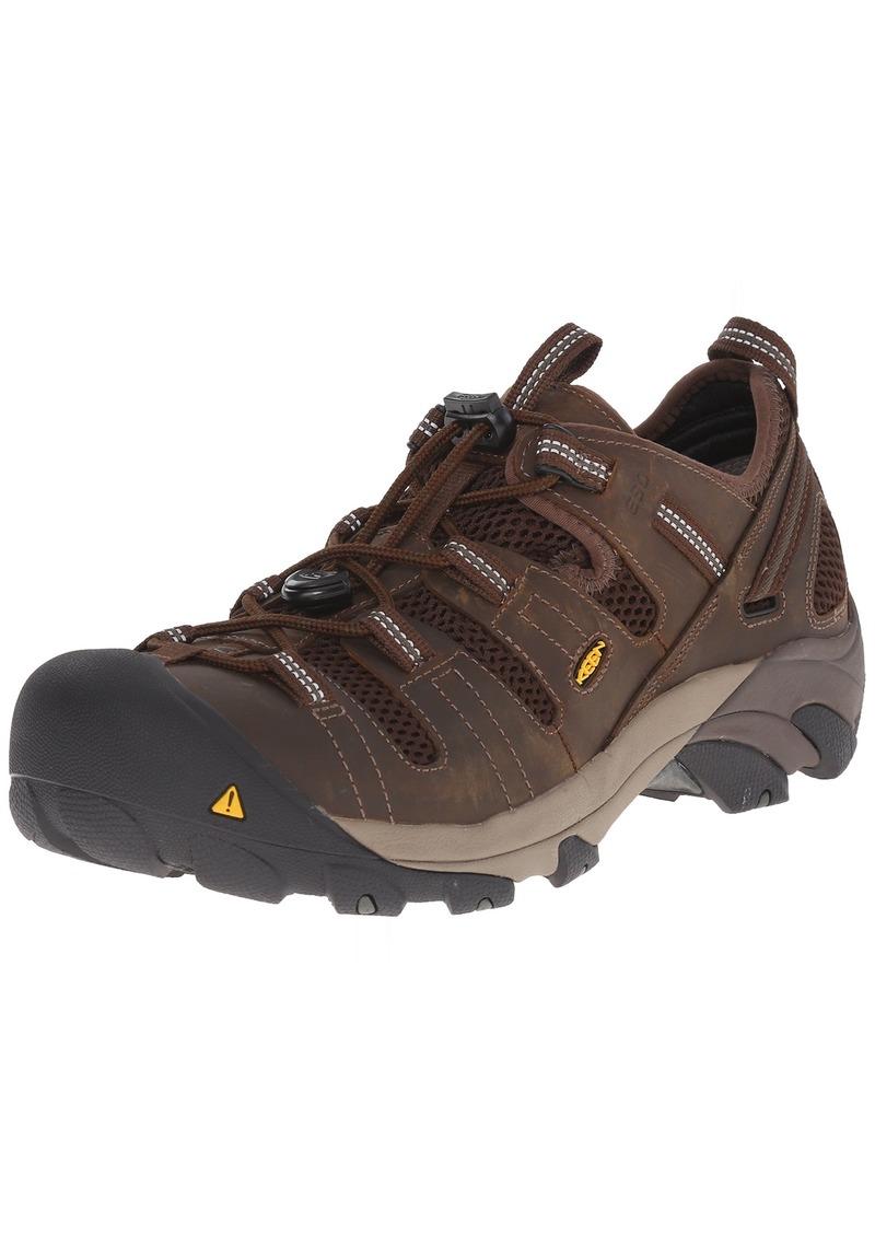 KEEN Utility Men's Atlanta Cool Soft Toe ESD Work Boot  8.5 2E US