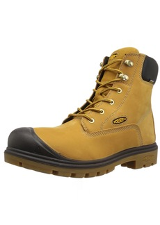 KEEN Utility Men's Baltimore 6 '' Soft Toe Waterproof Industrial Boot  10 D US