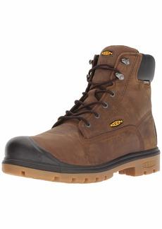 "Keen Utility Men's Baltimore 6"" Steel Toe 600 Grams Waterproof Industrial Boot  8 2E US"