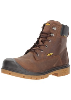 Keen Utility Men's Baltimore 6'' Waterproof Steel Toe Industrial Boot  8 D US