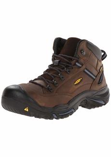 KEEN Utility Men's Braddock Mid AL Waterproof M Work Boot   US