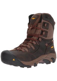 "Keen Utility Men's Detroit 8"" Soft Toe Waterproof Industrial and Construction Shoe  9 D US"