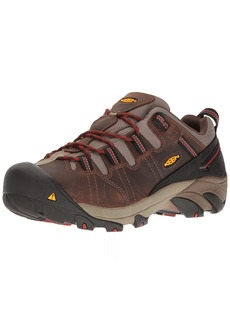 KEEN Utility Men's Detroit Low Internal Met Industrial and Construction Shoe  9 2E US