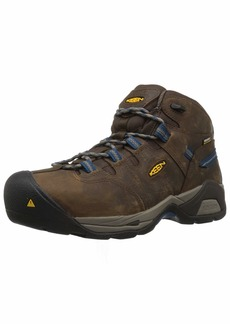 Keen Utility Men's Detroit XT Mid Steel Toe Waterproof Industrial Boot  13 2E US