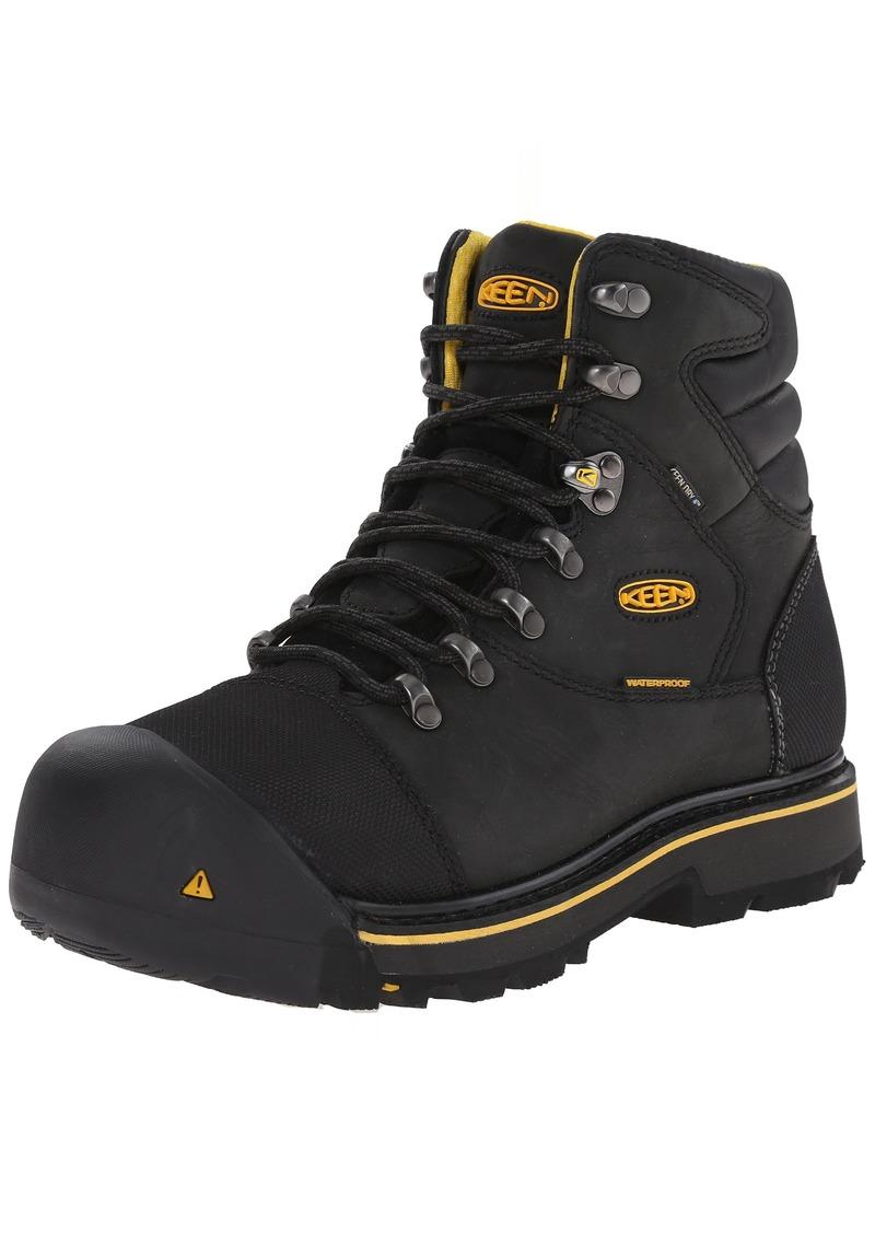 KEEN Utility Men's Milwaukee Waterproof  Boot 8.5 EE - Wide