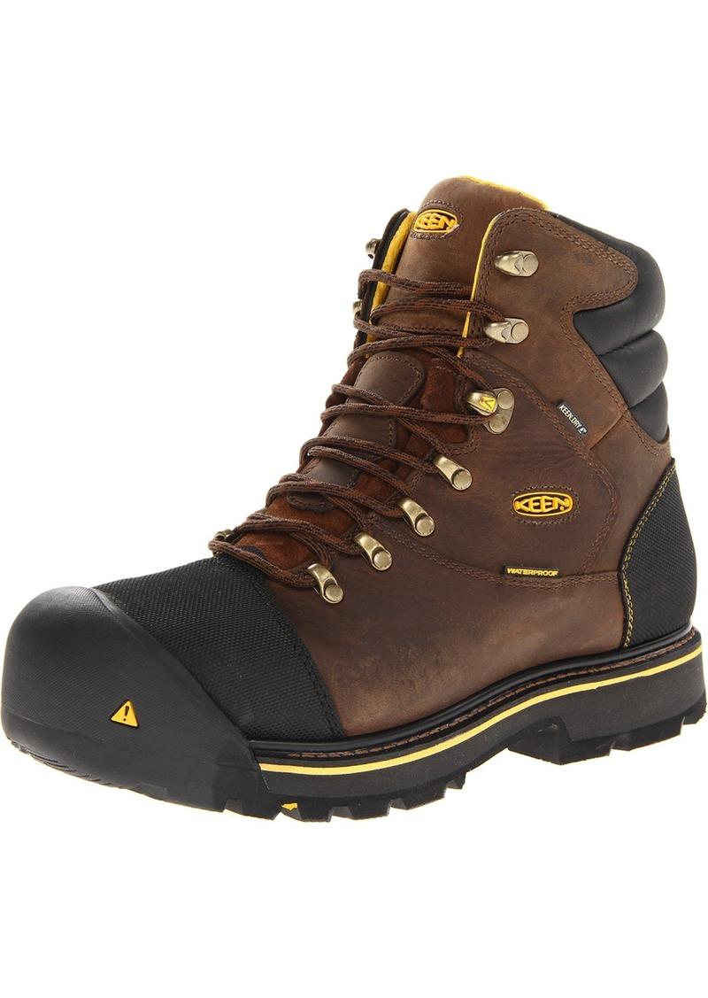 KEEN Utility Men's Milwaukee WP  Boot 12 EE - Wide