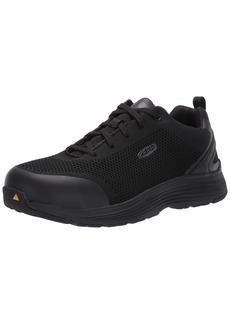 KEEN Utility Men's Sparta (Aluminum Toe) Industrial Shoe Black  D US Work D