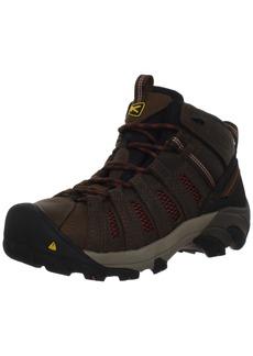 KEEN Utility Men's Steel Toe Flint Mid Work Boot   10 D(M) US
