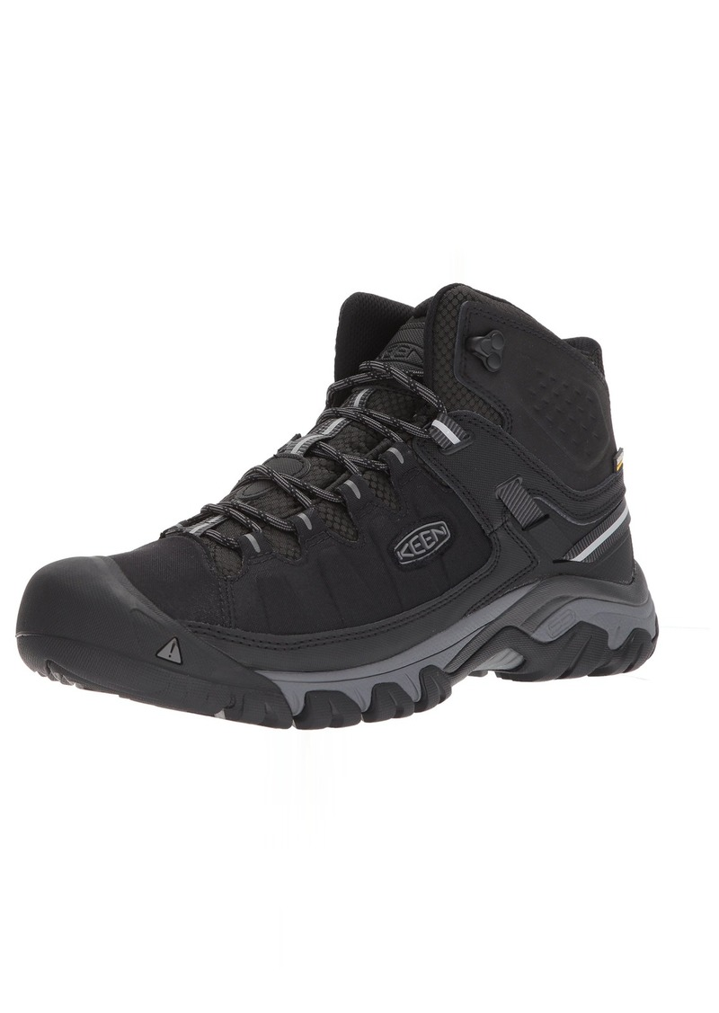 KEEN Utility Men's Targhee EXP MID WP Hiking Boot   M US