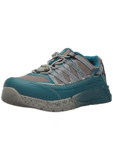 Keen Utility Women's Asheville at ESD Industrial & Construction Shoe Ink Eggshell Blue