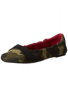 KEEN Women's Cortona Bow Canvas Ballet Flat