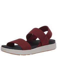 KEEN Women's ELLE Backstrap Sandal Red