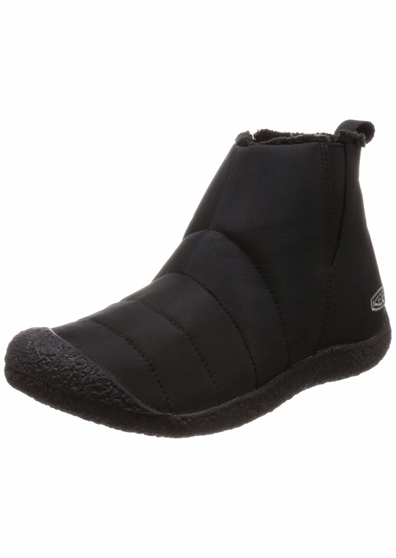 KEEN Women's Howser MID Fashion Boot Black  M US