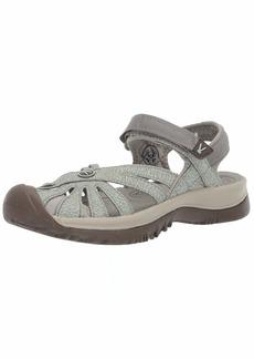 Keen Women's Rose Sandal Slipper Lily pad/Celadon  M US