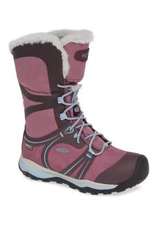 Keen Terradora Winter Waterproof Faux Fur Lined Boot (Big Kid)