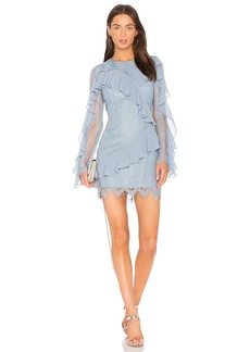Better Days Lace Ruffle Dress