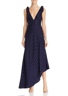 Keepsake Abound Shadow Stripe Gown