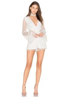 keepsake All Night Lace Playsuit