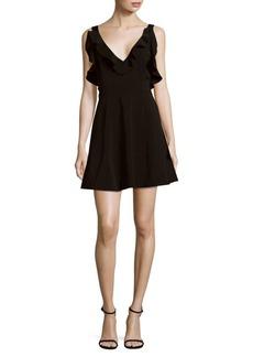 Keepsake Alluring Ruffled Mini Dress