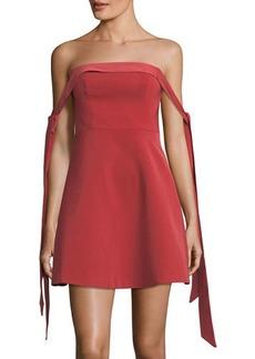 Keepsake Another World Off-The-Shoulder Dress