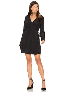 keepsake Capture Long Sleeve Dress in Black. - size S (also in XS, XXS)