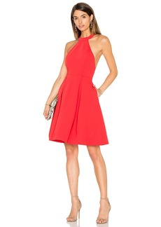 keepsake City Heat Dress in Red. - size M (also in S,XXS)