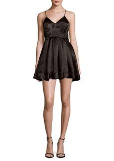 Keepsake City Love Pleated Dress