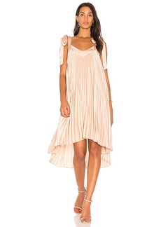 keepsake Deep Water Dress in Blush. - size L (also in M,S,XS, XXS)