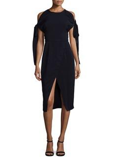 Keepsake Divinity Cold-Shoulder Dress