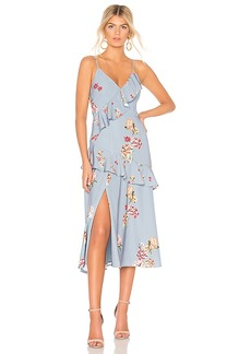 keepsake Evolve Midi Dress