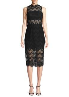 Keepsake Lace Knee-Length Dress