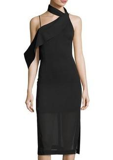 Keepsake Laika Asymmetric Midi Dress