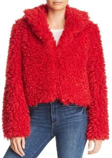 Keepsake Lionheart Cropped Teddy Bear Coat