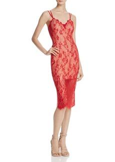 Keepsake Love Affair Lace Midi Dress - 100% Exclusive