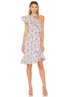 keepsake Lovers Holiday Mini Dress in Blush. - size XS (also in S,XXS,M)